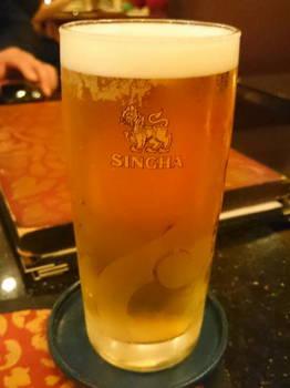シンハービール樽生(タイから直輸入).JPG