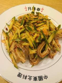 豚胃袋ときゅうりのサラダ.JPG