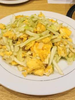 黄ニラと卵の炒め.JPG